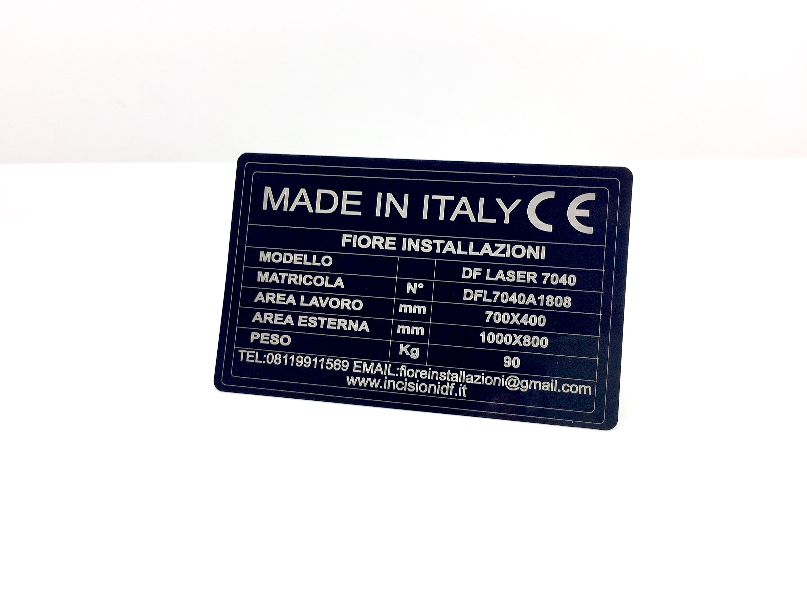 Applicazioni La marcatura è molto veloce e molt... | Alluminio