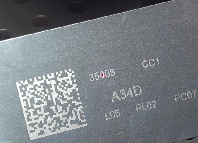 Applicazioni Il Laser è capace di iden... | Marcatura seriale e matricolare