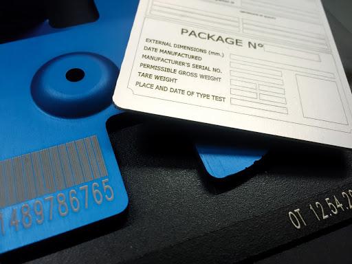 Marcatura seriale e matricolare 2 | Applicazioni | Fiore Installazioni